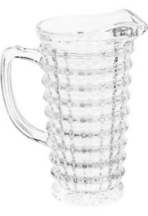 Jarra Diamond Em Cristal- Cristal- 1,1L- Rojemacrojemac