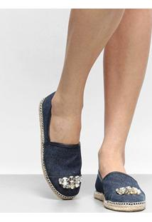 Alpargata Shoestock Pedraria Feminina