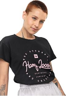 Camiseta Hang Loose Surfwear Preta