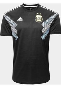 Camisa Seleção Argentina Away 18/19 S/N° - Torcedor Adidas Masculina - Masculino