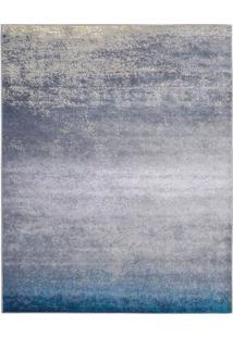 Tapete Supreme Retangular Velour (250X350) Água