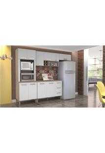 Cozinha Compacta 5 Peças Com Tampo Ametista Kits Paraná