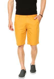 Bermuda Colcci Chino Amarela