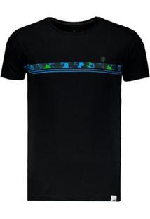 Camiseta Hd Slim Fit - Masculino-Preto