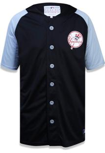 Camisa New Era Manga Curta New York Yankees Preto