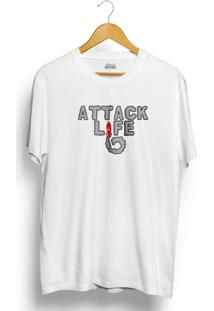 Camiseta Attack Life Rocket - Masculino