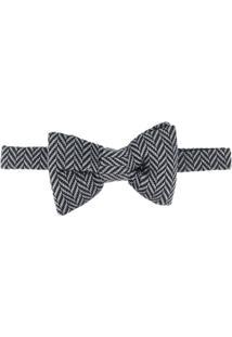 Tom Ford Gravata Borboleta Com Padronagem - Preto