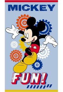 Toalha De Banho Disney Mickeyâ® Fun- Azul Claro & Vermelhsantista