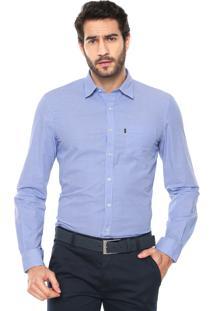 Camisa Ellus Listras Azul