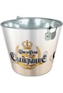 Balde Para Garrafa Champagne 5L Amarelo - Hauskraft