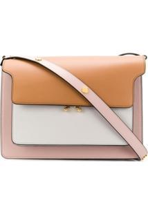 Marni Bolsa Tiracolo Color Block - Rosa