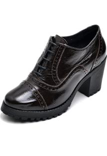 Bota Trivalle Ankle Boot Preta