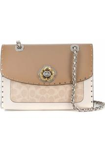 Coach Parker Shoulder Bag - Neutro
