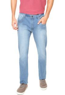 Calça Jeans Rusty Reta Over Azul