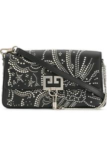 Givenchy Studded Chain Clutch - Preto
