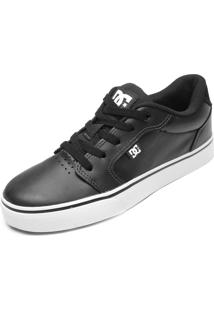 Tênis Dc Shoes Anvil Le La Preto