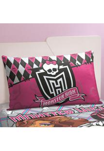 Fronha Avulsa Infantil Lepper Monster High Monster High