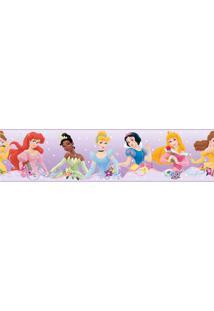 Adesivo De Parede Faixa Princesas Roommates