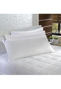 Travesseiro Agarradinho 50X90Cm Fibra Siliconizada 233 Fios Plumasul