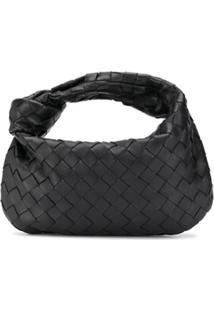 Bottega Veneta Mini Jodie Shoulder Bag - Preto