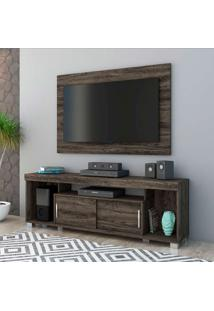 Rack Com Painel Para Tv 50 Polegadas Pierre Vulcano 152 Cm