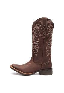 Bota Elite Country Ingram Couro Café