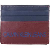 Carteira Couro Calvin Klein Porta Cartão Masculina - Masculino e09df1aead