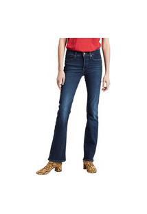 Calça Jeans Levis 315 Shaping Bootcut - 50055 Azul