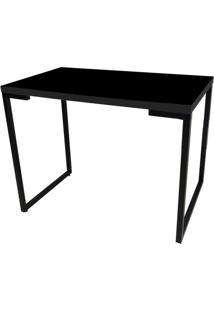 Mesa Para Computador Escrivaninha Porto 120Cm Preto - Fit Mobel