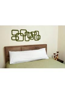 Travesseiro Aman 140 Fios Cor Branco - 43602 - Sun House