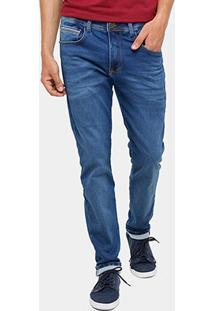 Calça Jeans Skinny Triton Indigo Masculina - Masculino