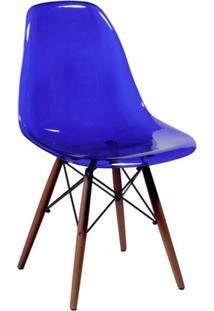 Cadeira Eames Iv Azul