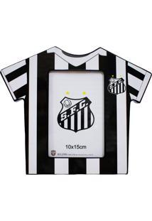 Porta Retrato Minas De Presentes Camisa Futebol Foto 10X15Cm - Santos Colorido