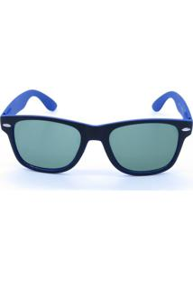 Óculos De Sol Prorider Preto E Azul Fosco
