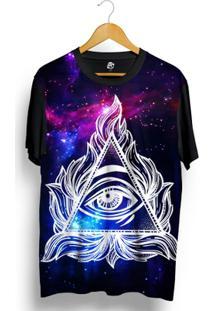 Camiseta Bsc Hidden Eye Full Print - Masculino