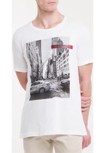 Camiseta Slim City - Branco 2 - Pp