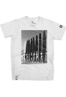Camiseta Stoned Vintage Surf Branco