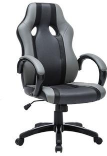 Cadeira Gamer Ártemis Cinza E Preta
