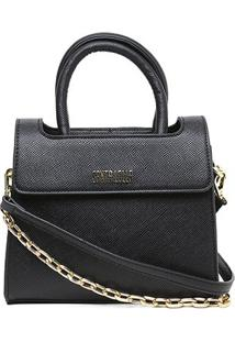Bolsa Santa Lolla Mini Bag Feminina - Feminino-Preto