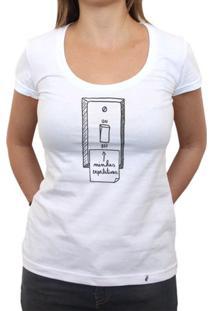 Minhas Expectativas - Camiseta Clássica Feminina