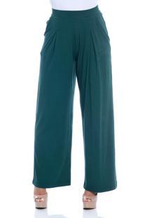Calça B'Bonnie Pantalona Elis Verde Militar - Tricae