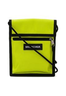 Balenciaga Bolsa Carteira Explorer - Amarelo