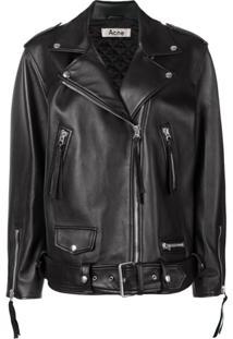 Acne Studios New Myrtle Oversized Jacket - Preto