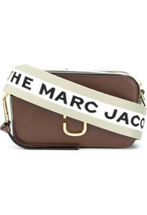 Marc Jacobs Bolsa Tiracolo Snapshot - Marrom