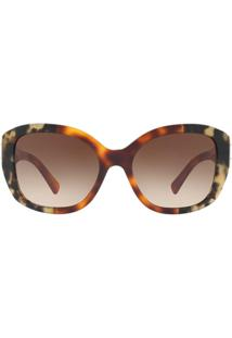 R  820,00. Zattini Óculos De Sol Burberry Irregular Be4248 Feminino -  Feminino-Caramelo 6c2ee813ea