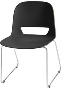 Cadeira Kind Base Fixa Cromada - 54055 - Sun House