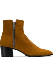 Balmain Ankle Boot Anthos - Marrom