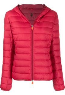 Save The Duck Giga9 Padded Jacket - Vermelho