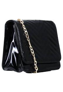 Bolsa Zariff Shoes Clutch Matelassê