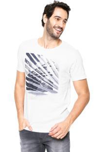 Camiseta Aramis Regular Fit Estampada Branca